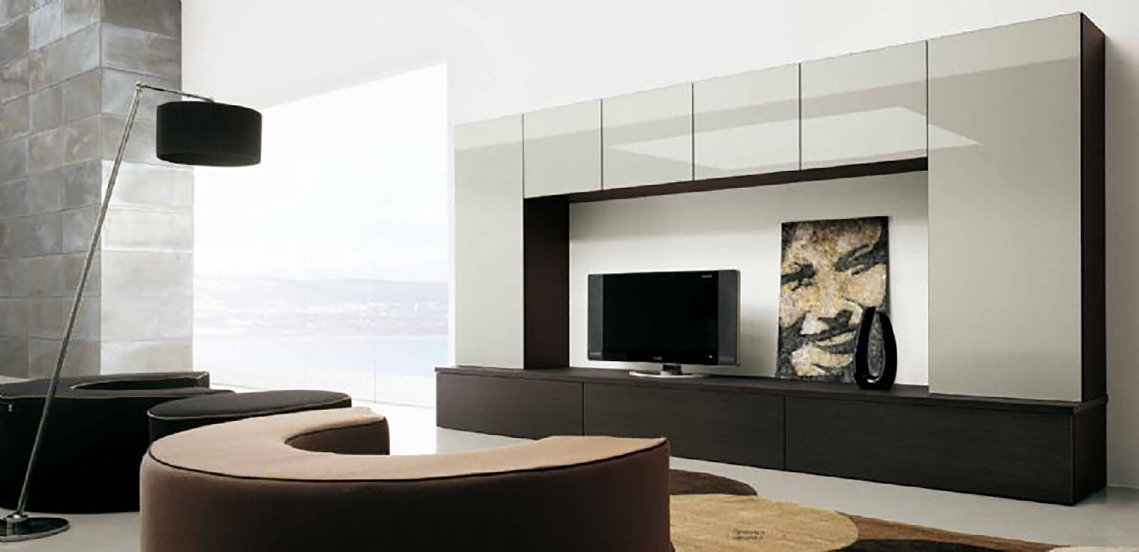 Furniture wall design